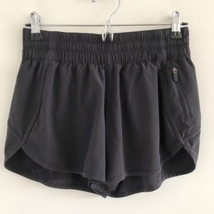 Lululemon Black Tracker Running Shorts Size 8